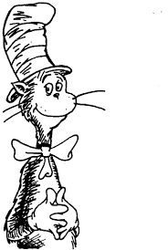 stylish page stylish decoration cat in the hat coloring page home coloring pages
