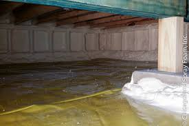 crawl space foam insulation. Brilliant Foam Chicago Crawlspace With Vapor Barrier In Closed Cell Spray Foam Insulation Throughout Crawl Space Foam Insulation A