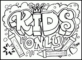 coloring pages graffiti coloring home
