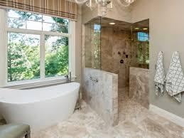 Walk in shower designs no door ideas