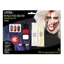 walking dead zombie makeup kit