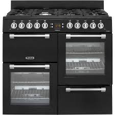 gas range. Leisure Cookmaster CK100G232K 100cm Gas Range Cooker - Black A+/A Rated