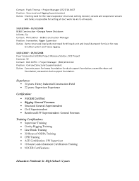 iron worker sample resume professional iron worker templates to