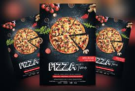 Free Flier Template Pizza Restaurant Free Psd Flyer Template Psfiles