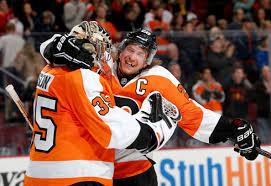 flyers game november giroux scores for flyers in 4 2 win vs oilers cbs philly
