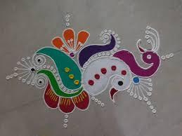 Small Picture Diwali Special Freehand Rangoli Design KolamRangoli