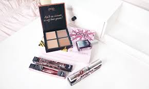 glamour box pop beauty review unboxing drop dead gorgeous box swatches