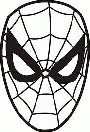 We4you2 Kleurplaten Van Gezichtenzelfkleuren Spider Man