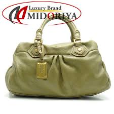 authentic marc by marc jacobs classic q baby groovee handbag m3111137 leather olive 053339 free