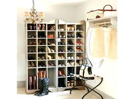 shoe racks for closets wooden organizers