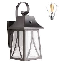 Exterior Photocell Light Fixtures Cloudy Bay Outdoor Wall Lantern With Dusk To Dawn Photocell