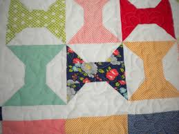 Beginner Longarm Quilting Designs and Ideas: Be Inspired! & Quilt Featuring Patterned Bowtie Design Adamdwight.com