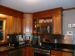cherry kitchen cabinets black granite. Full Size Of Kitchen:kitchen Backsplash Cherry Cabinets Black Counter Nice Kitchen Granite N