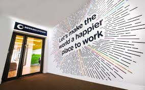office graphic design. Plain Graphic Wonderful Wall Graphic Design For Office Branding  Httpswwwvinylimpressioncoukpagescasestudies To Office Graphic Design R