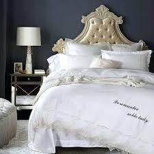 scion lace stripe duvet cover set white lace duvet cover set 2017 luxury 100 cotton bedding