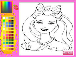 Coloring Pages Barbie Watch Cool Coloring Pages For Girls Games