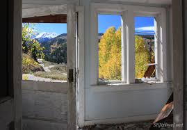 looking out front door. Searching For Ghosts In Gilman Colorado Looking Out Front Door I