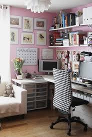 Office Room: 17 Pink Computer Desk For Girl - Bookshelves