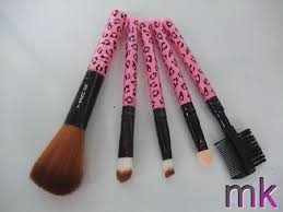 outlet mac fashion 5pcs pink makeup brush