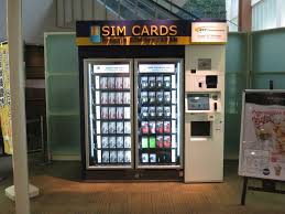 Japan Sim Card Vending Machine Delectable The AZ On Japan's New SIM Card Vending Machines Pinterest