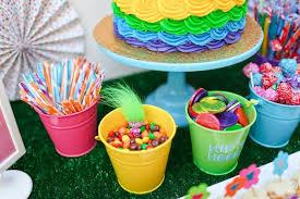 troll tastic trolls birthday party