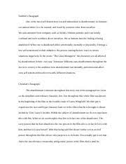 sociology state university of new york at buffalo course hero 4 pages the glass menagerie essay