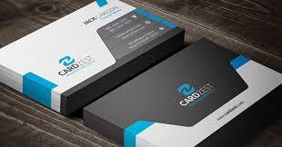 Modern Sleek Professional Business Card Template Cardzest