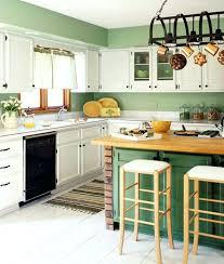 green kitchen walls sage