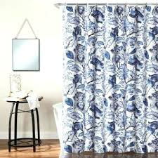 striped shower curtain bed bath and beyond white fl shower curtain well suited blue fl shower