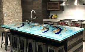 recycled glass countertops cost vs granite image of with decor 18
