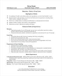 fast food cook resumes resume fast food rome fontanacountryinn com