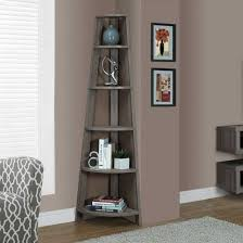 Reclaimed-Look Corner Display Unit