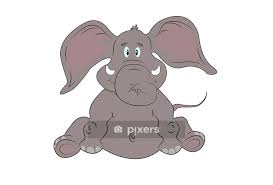 baby elephant wall decal wall decals
