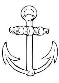 anchor coloring page anchor coloring page anchor drawing picture ship anchor coloring page chevron anchor coloring
