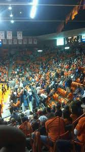 Don Haskins Center El Paso Seating Chart Don Haskins Center Section X Home Of Utep Miners