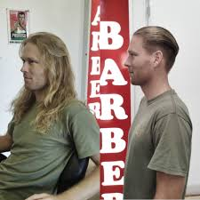 Hair Style Before And After haircut by byron bay barber jack the snipper slick style 2065 by wearticles.com