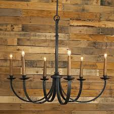 wrought iron chandeliers rustic black
