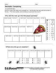 Comparing and Ordering Decimals | EdBoost