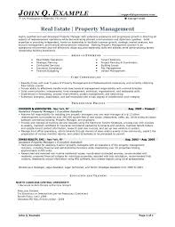 sample resume for apartment manager resume for property manager cool sample resume property manager