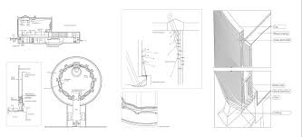 Mit Chapel Designer Saarinen Crossword Eerro Saarinens Mit Chapel Detailed Drawings Eero