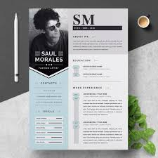 Template Resume Creative Template Free Download Dashboard