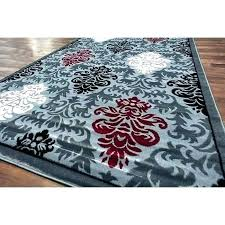 black and gray rugs red white rug grey area teal