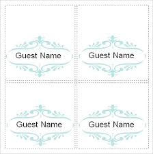 Place Setting Template Free