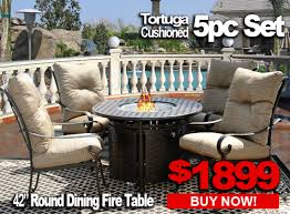 PatioImport Patio Furniture Sale TORTUGA 5pc set with 42