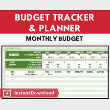 Budget Calculator Budget Tracker And Planner Financial Tracking Excel Download