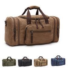 <b>men</b> women <b>canvas</b> luggage duffle bag gym handbag <b>outdoor</b> ...