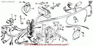 honda gl goldwing usa wire harness schematic partsfiche wire harness schematic