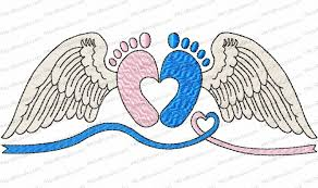 Angel Wings Applique Design Pin On Angels