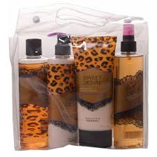 bulk special design bath and skin care body lotion body wash fragrance mist gift