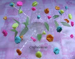 Decorated Plastic Bottles DIY Recycle Plastic bottle Flower Decoration Piece Recycled Things 48